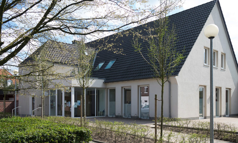 Bauunternehmung Steinberg Umbau Lamberti Pfarrheim